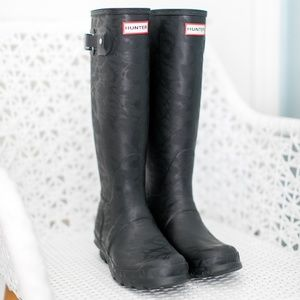 Hunter Boots Brand New Tall 7 Black